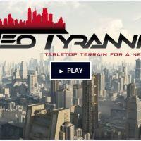 Neo Tyrannis - 6/10mm Sci-Fi Terrain on Kickstarter