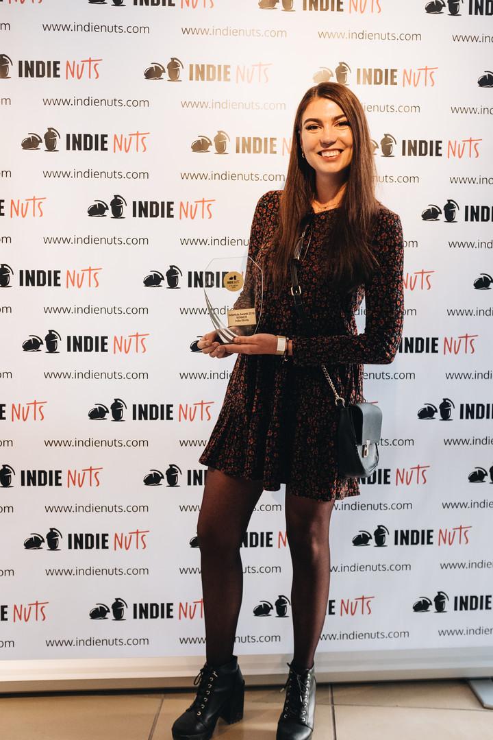 Kim Fabienne Hertinger IndieNuts Awards