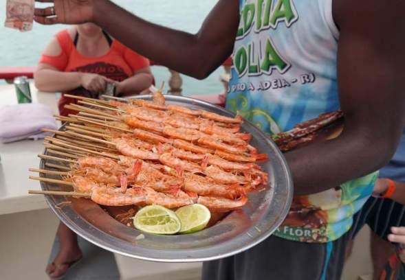 Shrimps to go