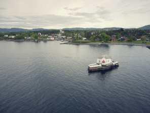 im Fjord...