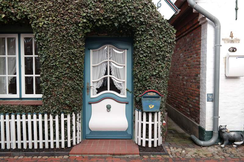 Tür in Wyk