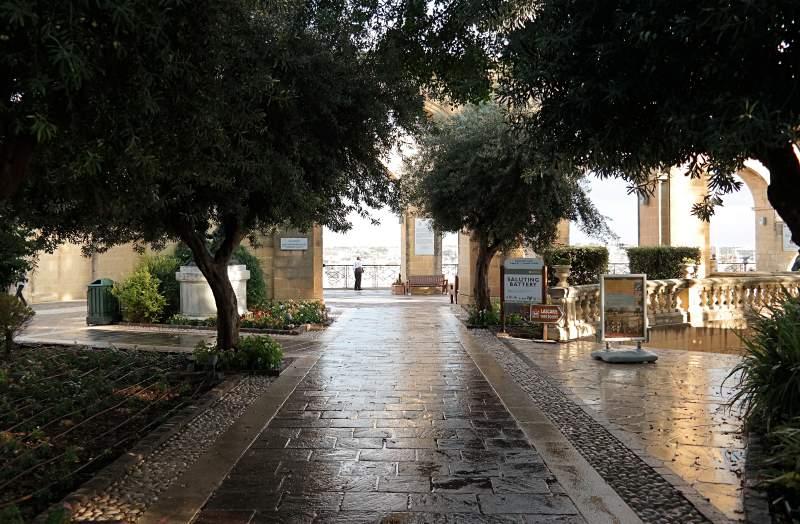 Zurück in Valletta