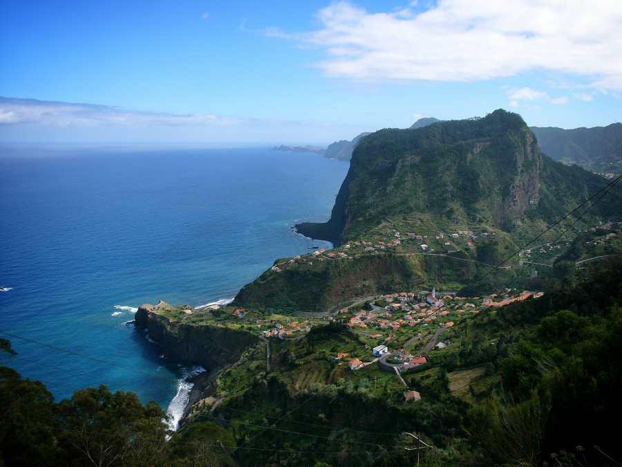 Die Nordküste von Madeira