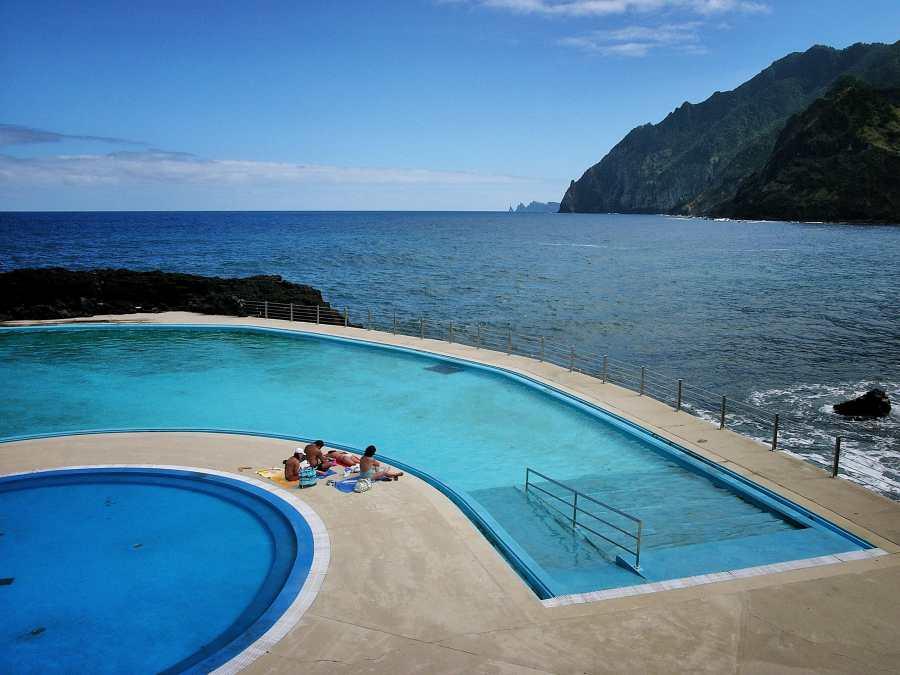Pool auf Madeira