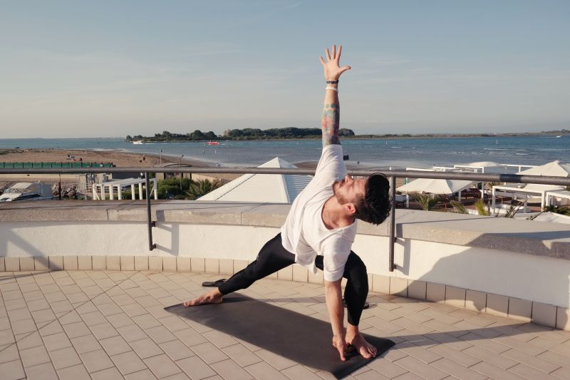 Yoga mit Salvo