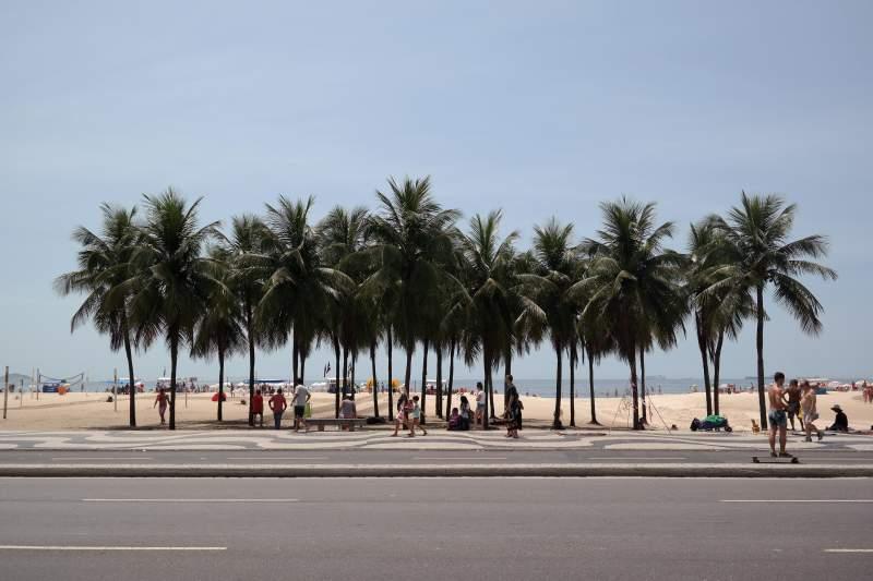 At the Copa, Copacabana...
