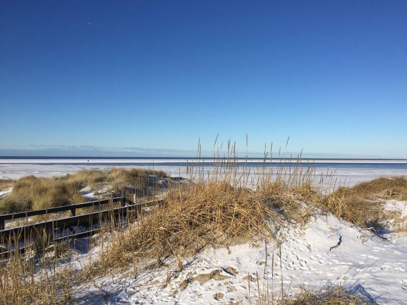 St. Peter-Ording im WInter