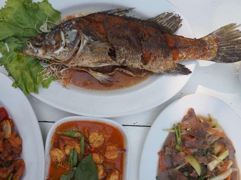Fisch auf dem Teller