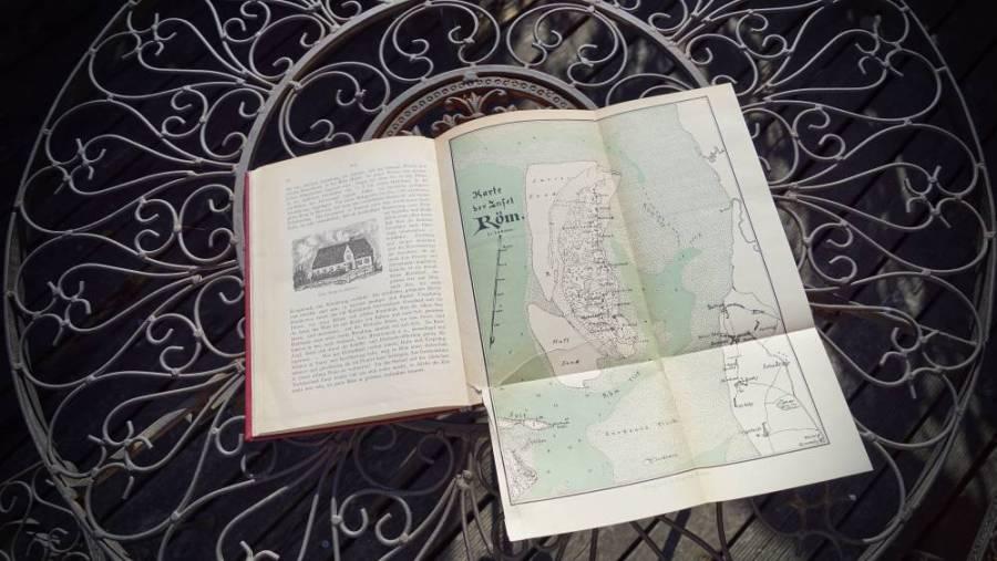 Historische Karte von Rømø