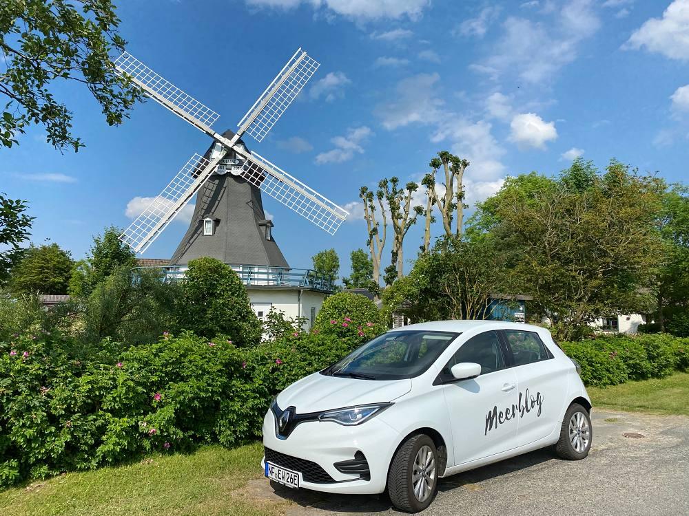 Met de elektrische auto naar Nordermeldorf