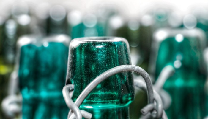 Glasflaschen - am besten als Mehrweg