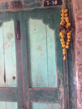 door to storeroom
