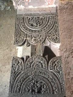 Detail of pillar carving