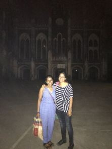 At St. Xavier's! Lovely campus