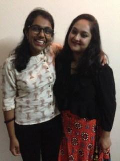 Apekshya and I