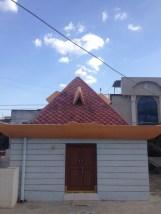 Tata's roof pyramid