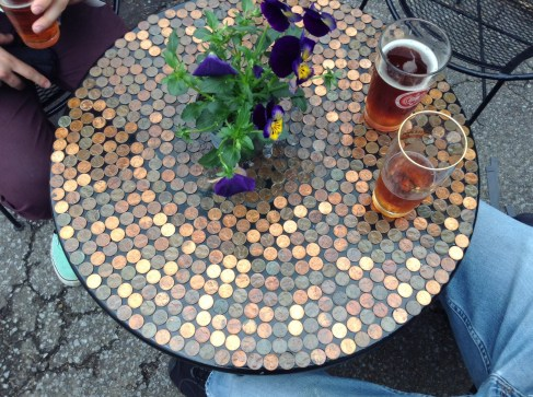 Penny table :)