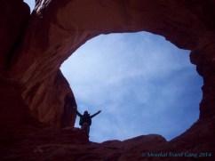 Kiernan in the Double Arch