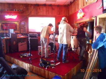 The Mystic Arrows played at Bubba's in Monroe :)