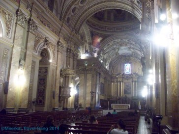 Inside of Inglesia Cathedral