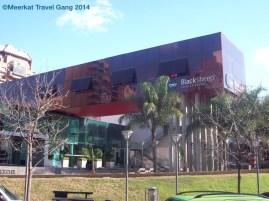 Strange techno club close to our Aussie friends' hostel.