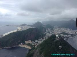 View from Pão de Açúcar Gondola