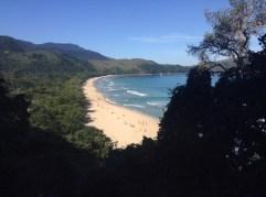 first view of praia do sono