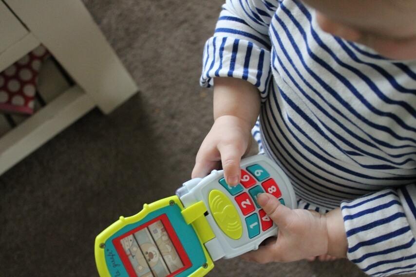 Sophie de giraf early learning toys set