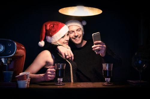 smartphone feestdagen