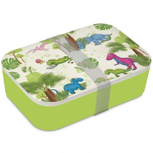 Lunchbox bamboe dinos