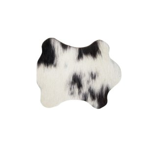 Onderzetter koe zwart-wit