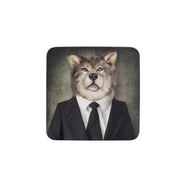 Onderzetter set mr wolf