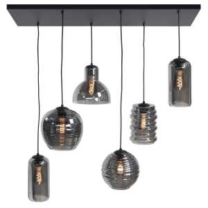 Hanglamp smoke fantasy 6 lichts