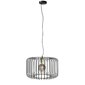 Hanglamp zwart Lucca 50cm