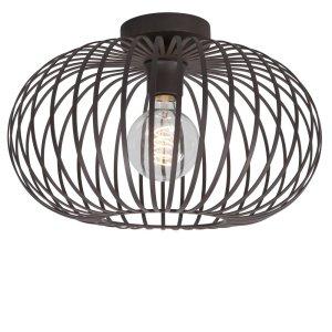 Plafondlamp bruin Bolato 50cm