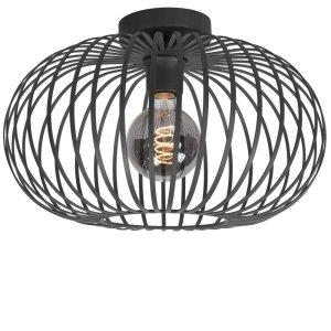 Plafondlamp zwart Bolato 50cm