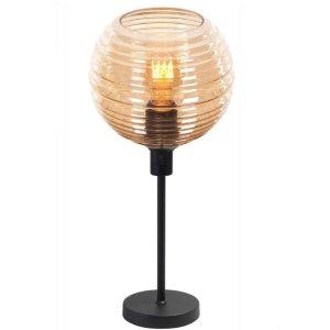 Tafellamp amber Fantasy globe 34cm