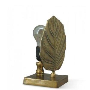 Tafellamp brons Oregon 25cm detail