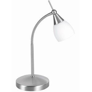 Tafellamp nikkel Touchy 35cm