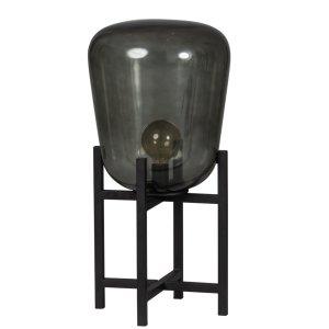 Tafellamp zwart Benn 70cm