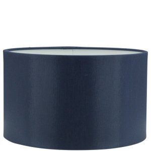 Lampenkap blauw Chintz cilinder GCH14