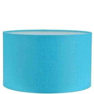 Lampenkap blauw Chintz cilinder GCH36
