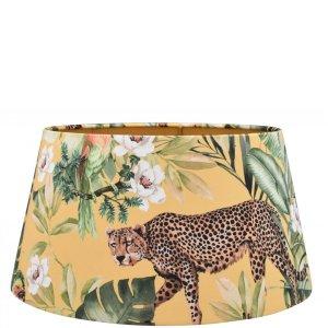 Lampenkap jungle luipaard velvet halfhoog TBRV09