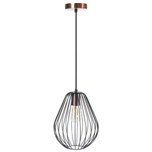 Hanglamp zwart Stardust 23cm