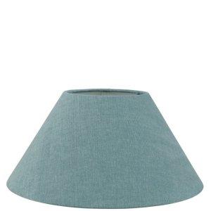 Lampenkap blauw katoen schuin TLI0051