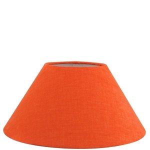 Lampenkap oranje katoen schuin TLI2503