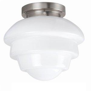 Plafondlamp melkglas Oxford 30cm