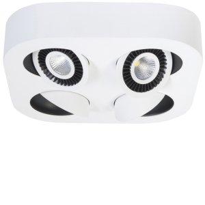 Spot wit Eye rond 4 lichts