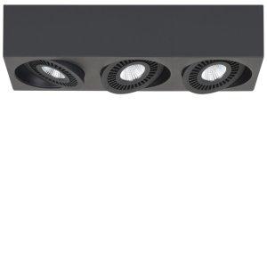 Spot zwart Eye 3 lichts