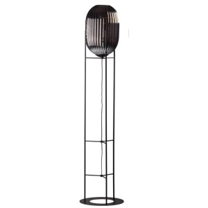 Vloerlamp smoke Glamm 176cm